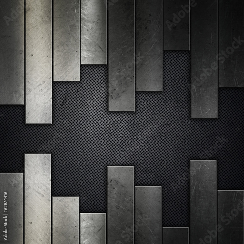 Abstract grunge metal background