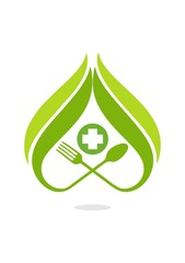 healthy food logo