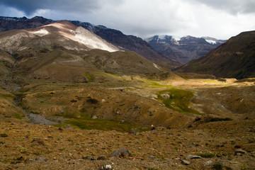 Cajon del Maipo y Embalse El Yeso reservoir, Andes, Chile