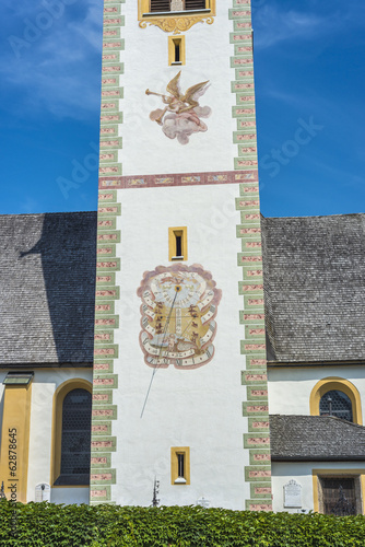 Saint Nicolaus in Mutters near Innsbruck, Austria.