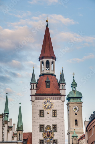 Old Town Hall in Munich, Germany