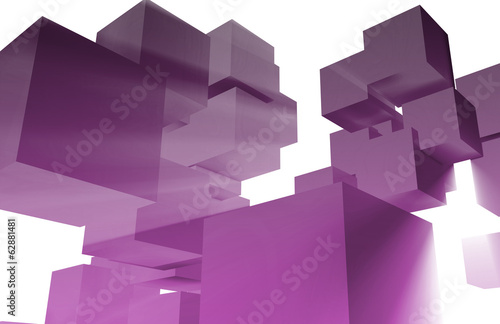 3D Business Background