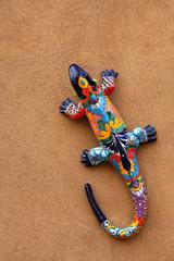 Colorful lizard - Santa Fe