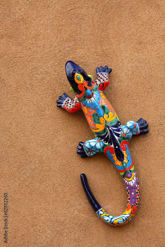 Colorful lizard - Santa Fe