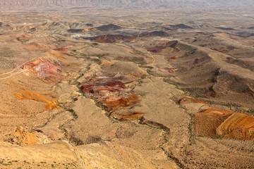 Color stone desert