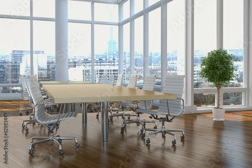 3D - office in paris 01