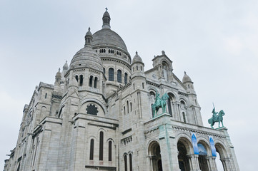 Sacre Coeur church at Paris