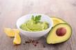 avocado and guacamole