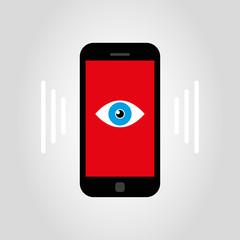 smartphone - eye
