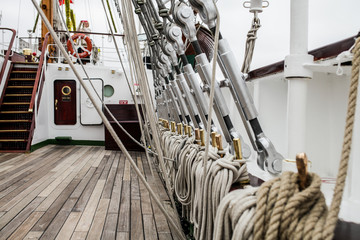 deck of a ship