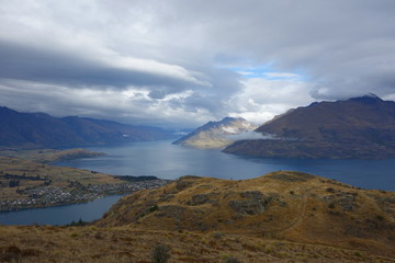 Wakatipu Lake from Queenstown Hill
