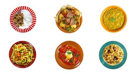 Food set Traditional   asian  cuisine