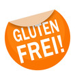canvas print picture - sticker - aufkleber - glutenfrei - g665
