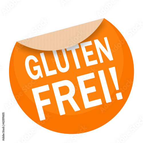 canvas print picture sticker - aufkleber - glutenfrei - g665