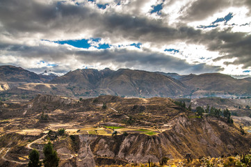 Colca Canyon View Overview