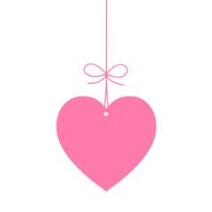 ETIQUETTE COEUR (je t'aime saint valentin carte fête amoureux)