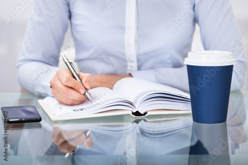Businessperson Working At Desk