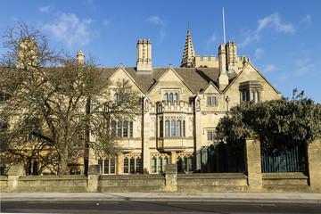 Historic University Building in Oxford City, UK