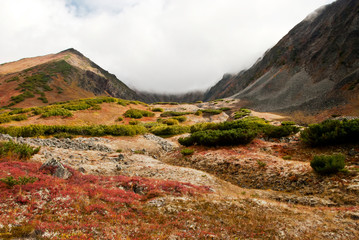autumn landscape in Kamchatka