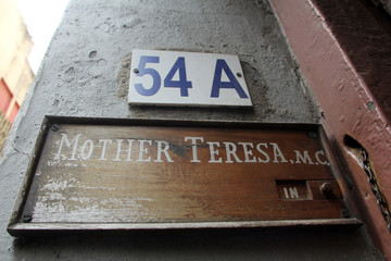 Entrance to Mother House, the residence of Mother Teresa