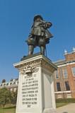 Kensington Palace entrance at London poster