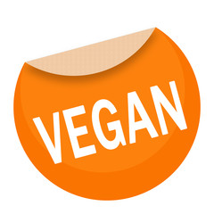sticker - aufkleber - vegan - g674