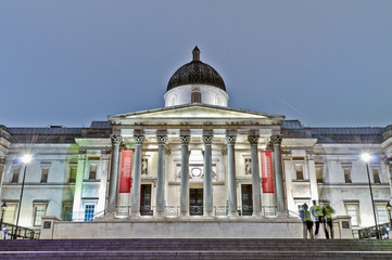 National Gallery at London, England