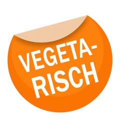 sticker - aufkleber - vegetarisch - g675