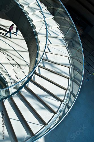 Foto op Plexiglas Trappen escalier