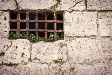 Rejas en muro