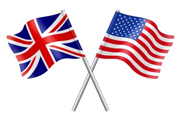 Flags: the United Kingdom and the United States