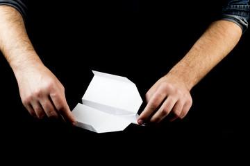 Manufacturing origami paper plane