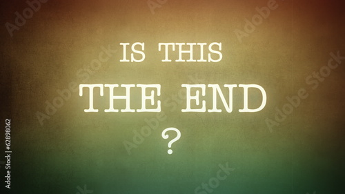 Film vintage Is This The End animation horror