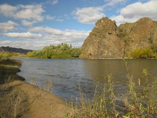 Selenge river Mongolia