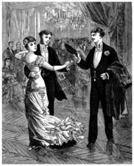 Ball : Pair Dancing - 19th century