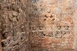 Details from Prasat Kravan in Angkor, Cambodia