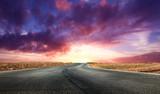 spettacolare alba nel deserto - 62900639