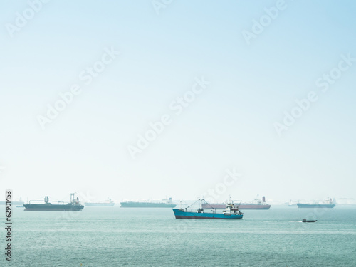 Group of transport ship