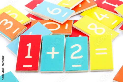 maths numbers at preschool