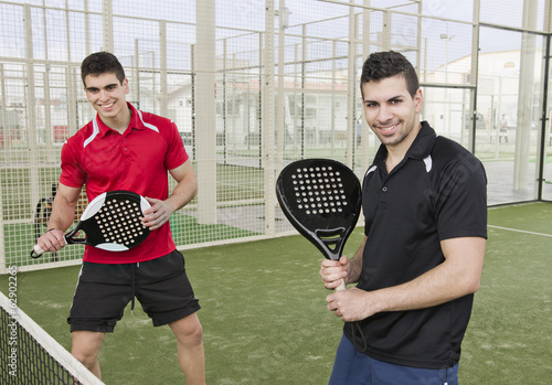Paddle tennis team