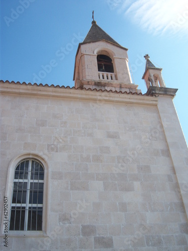 canvas print picture Kirche Brist