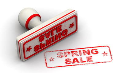 Spring sale. Seald and imprint