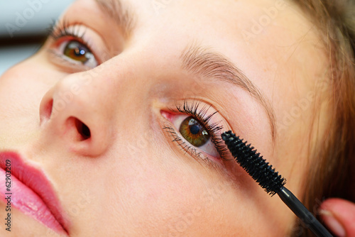 canvas print picture Make up
