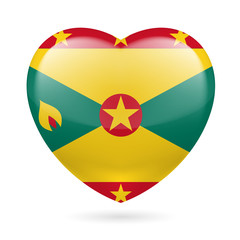 Heart icon of Grenada