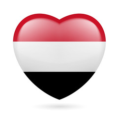 Heart icon of Yemen