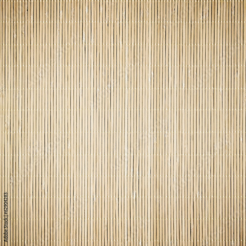 Bamboo mat surface