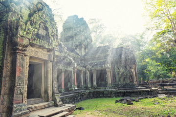 Old temple in Angkor Thom, Cambodia