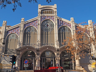 Mercado Central in Valencia, Spain.