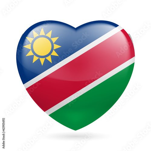 Heart icon of Namibia