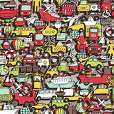 Transportation seamless pattern